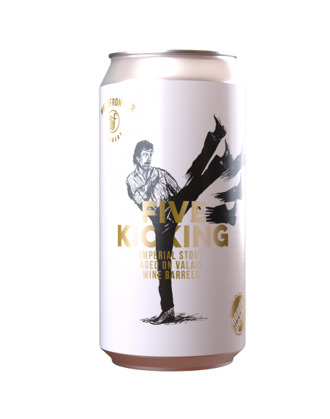Five Kicking Imperial stout barrel aged