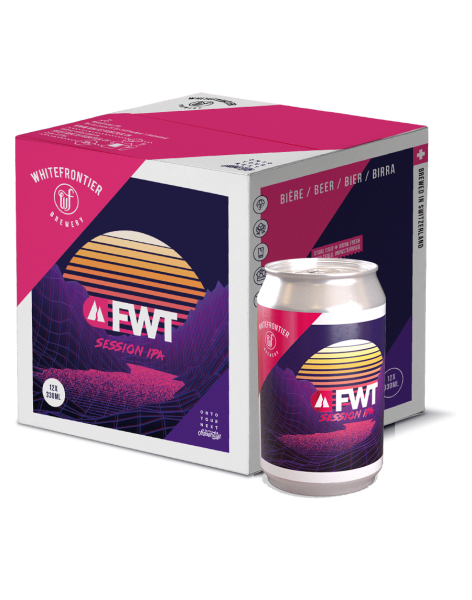 Pack 12 - FWT Session IPA - Can