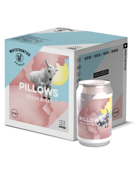 PACK 12 PILLOWS CANS